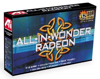 ATI All-in-Wonder Radeon box