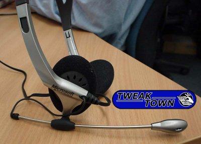 Microsoft SideWinder Game Voice headset