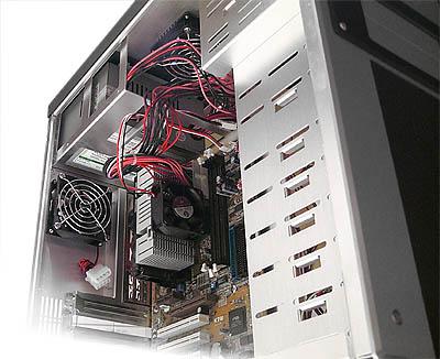 Coolermaster ATC-200 review - Kast open, voor/laag