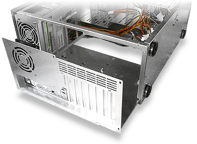 Coolermaster ATC-200 review - mobo chassis