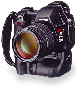 Olympus Camedia E-10 spiegelreflex