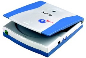 Is het een laptop? Is het een eiersnijder? Nee, het is een portable MP3 Speler!
