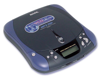 Napa MP3/VCD/CD speler