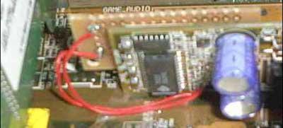 Asus A7V voltage mod