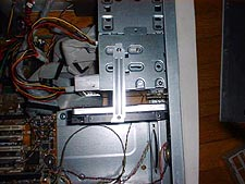 Extra HDD brackets boiuwen met slot spacers
