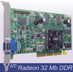 ATi Radeon 32MB DDR