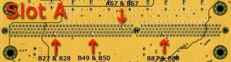 Asus K7V-T processorvoet