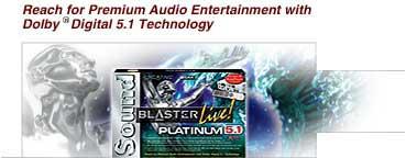 Sound Blaster Live! Platinum 5.1