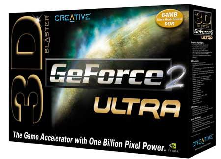 Creative GeForce2 Ultra box