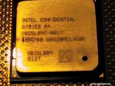 Pentium 4 processor foto