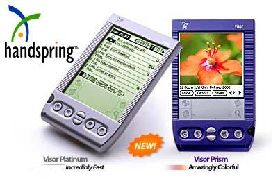 Handspring Visor Prism en Visor Platinum