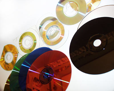 Verschillende CD-Rs