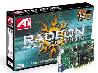 ATi Radeon Mac edition en doos