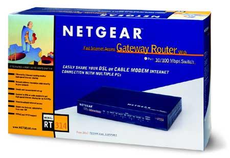 Netgear RT314 boxshot