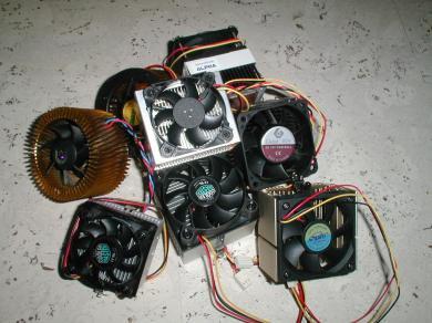 SocketA koelers: alle koelers bij elkaar
