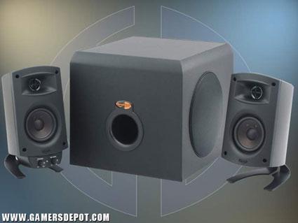 Klipsch ProMedia 2.1 speakerset