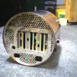 Turbine-kast