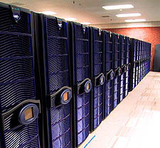 SARA Teras supercomputer (SGI Origin 3800)