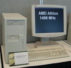 Athlon 1,5GHz demosysteem