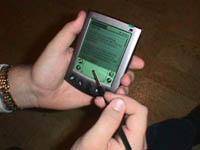 PDA roundup - Palm Vx in de hand