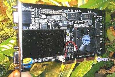 SUMA Platinum GeForce2 MX SE (Special Edition) TwinView 32MB