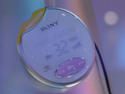 Comdex 2000: Sony MP3 speler