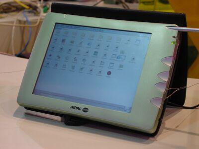 Comdex 2000: Mitac WebPad