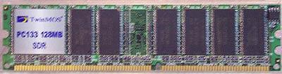 TwinMOS 184-pin SDR geheugen