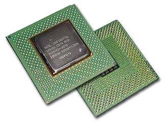 Pentium 4 (voor- en achterkant)