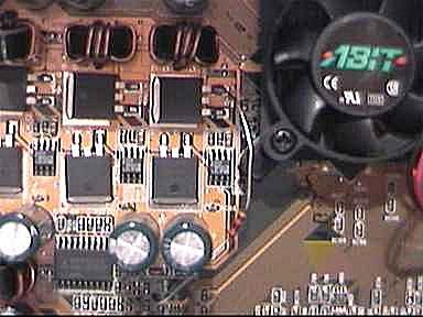 Abit KT7 voltage mod