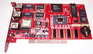 Merilus FireCard PCI Firewall