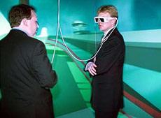 Willem en virtual reality