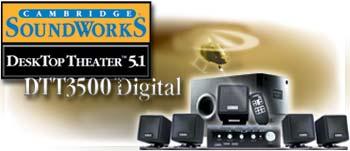 Cambridge SoundWorks DTT3500 logo