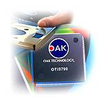 Oak Optical storage illustratie