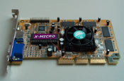 X-Micro Hulk V GeForce2 MX
