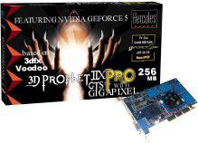 Hercules 3D Prophet IIX Pro Feat. nVidia GeForce5 based on 3dfx Voodoo with Gigapixel technology - boxshot