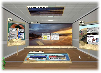 TaskGallery - 3D Windows GUI