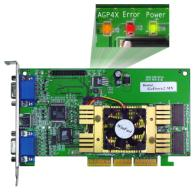WinFast Geforce2 MX TwinView ( leds )