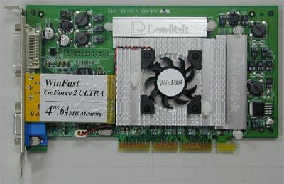 De Leadtek Winfast GeForce2 Ultra