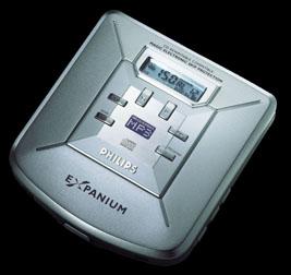 Philips eXpanium 103 MP3-CD speler