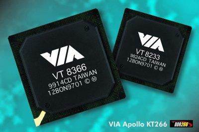 VIA KT266 chipset