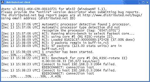 Itanium - Distributed.net client