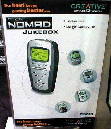 Mp3 gadgets @ CES 2001