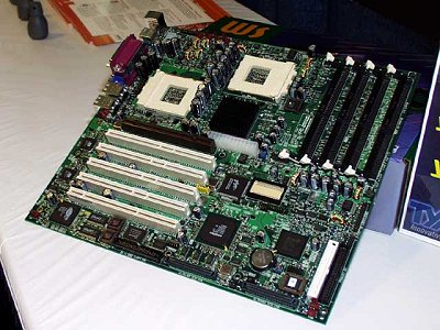 AMD 760MP moederbord