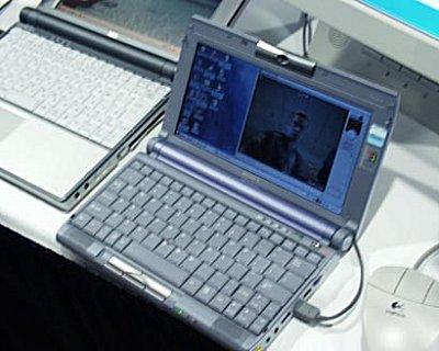 Transmeta laptop