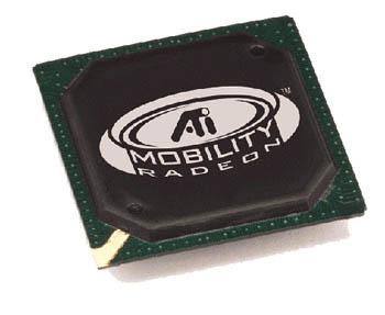 ATi Mobility Radeon chip