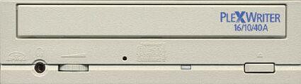 Plextor PlexWriter 16/10/40A frontje