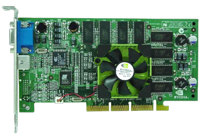 nVidia NV20 beta kaart