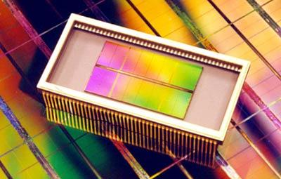 Samsung 4Gbit chip persfoto