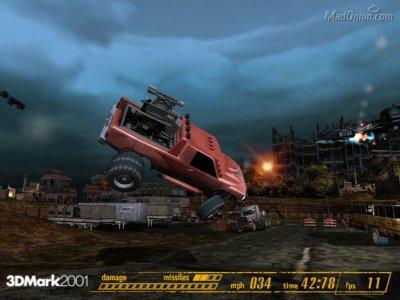 3DMark 2001 screenshot